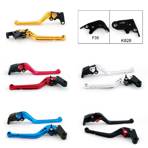 Standard Staff Length Adjustable Brake Clutch Levers Kawasaki ZX636R ZX6RR 2005-2006