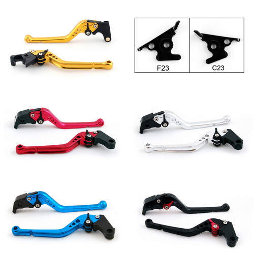 Standard Staff Length Adjustable Brake Clutch Levers Aprilia DORSODURO 750 2008-2016 (F-23/C-23)