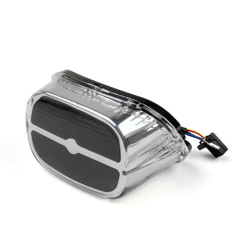 LED Tail Brake Light Bar & Shield Harley Dyna Super Glide Convertible FXDS CONV, Custom EFI FXDCI, FXD/EFI FXDI, T Sport FXDXT, Wide Glide EFI FXDWGI