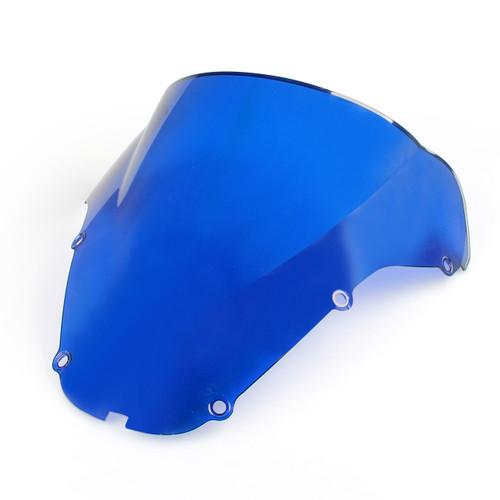 Windshield WindScreen Double Bubble Honda CBR929RR (2000-2001) Blue