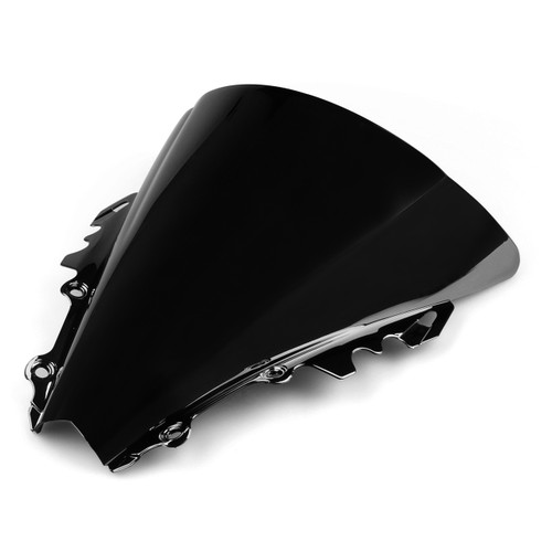 Windshield WindScreen Double Bubble Yamaha YZF R6 (2006-2007) Black
