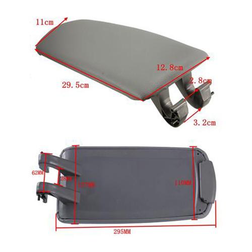 PU Leather Center Console Armrest Cover Lid Audi A4 B7 A4L (2004-2008)