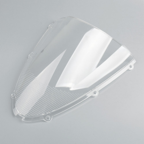 Windscreen Windshield Kawasaki Ninja ZX6 R 636 (2005-2006), Double Bubble, Clear