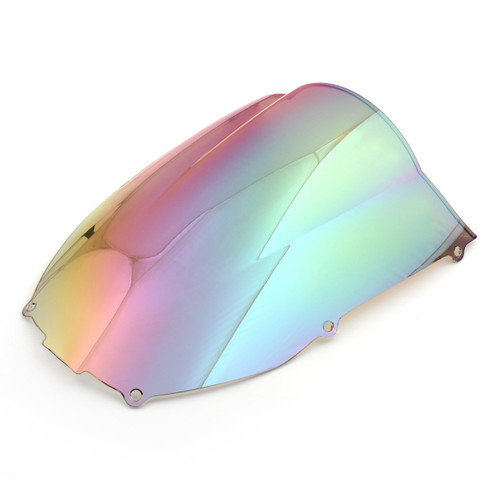 Windscreen Windshield Kawasaki Ninja ZX6 R 636 (2000-2002), Double Bubble, WI