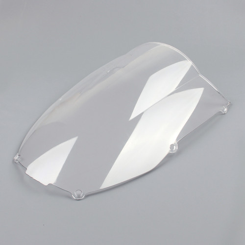 Windscreen Windshield Kawasaki Ninja ZX6 R 636 (2000-2002), Double Bubble, Clear