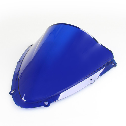 Windshield WindScreen Double Bubble Suzuki GSXR 600 750 (2008-2009) K8 Blue