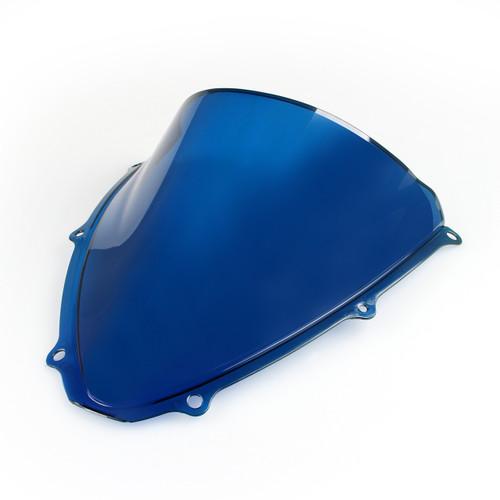 Windscreen Windshield Suzuki GSXR600 GSXR750 K6 (2006-2007) Double Bubble Blue