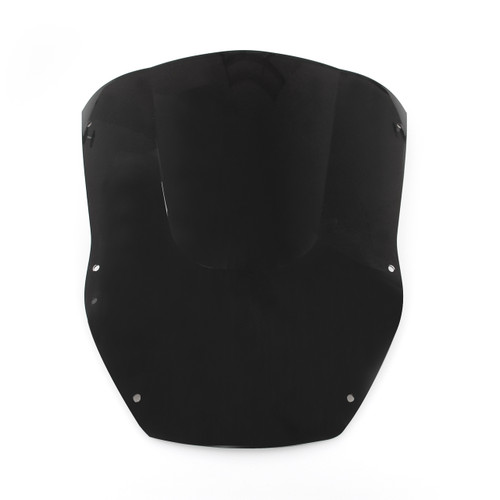 Windscreen Windshield Kawasaki Ninja ZX12 R (2000-2001), Black