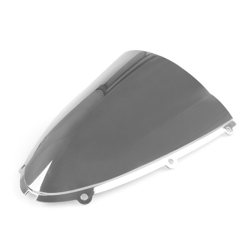Windscreen Windshield Kawasaki Ninja ZX6 R 636 (2005-2006), Double Bubble, Chrome