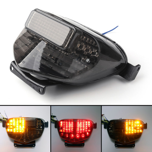 Tail Light with integrated Turn Signals for Suzuki GSXR 600 / 750 (00-03) GSXR 1000 (01-02)