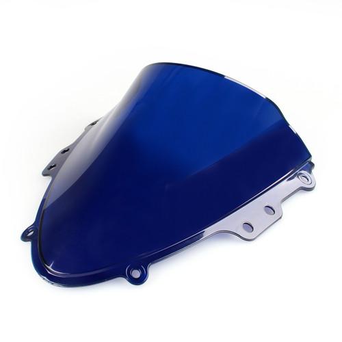 Windshield WindScreen Double Bubble Suzuki GSXR 600 750 (2004-2005) K4 Blue