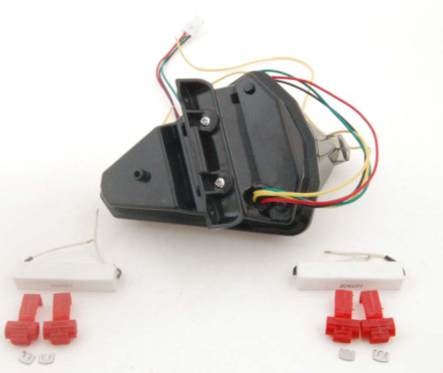 Integrated LED TailLight Turn Signals For Yamaha YZF R1 2007-2008 Smoke