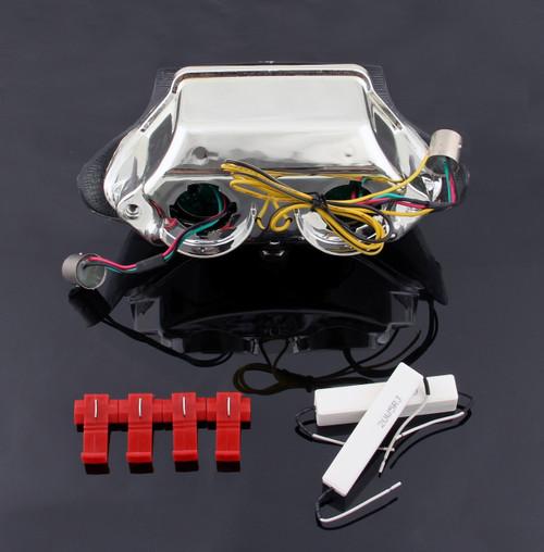 Taillight integrated Turn Signals For Triumph Daytona 595 995 Speed Triple Smoke