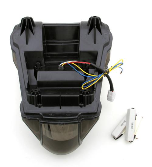 Integrated LED TailLight Turn Signals For Suzuki GSXR 1300 Hayabusa 2008-2014 Smoke