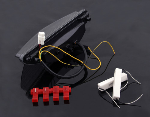 LED Taillight integrated Turn Signals For Yamaha Raider 2008-2010 Smoke