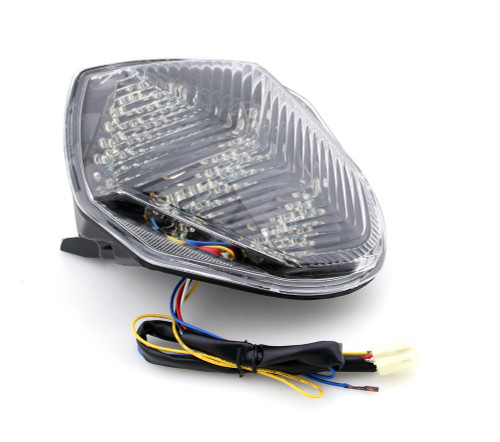Integrated LED TailLight Turn Signals For Suzuki GSXR 1000 2003-2004 Clear
