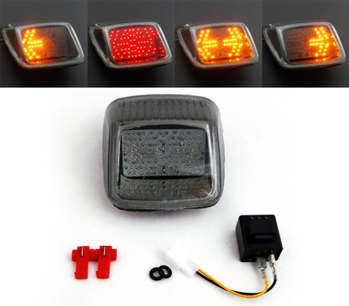Tail Light with integrated Turn Signals for Harley Davidson V-ROD, Night Rod, Street Rod