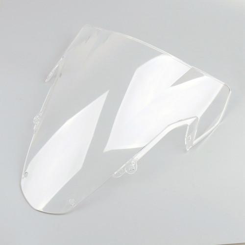 Windscreen Windshield Suzuki GSXR 600 (1996-1999), Double Bubble, Clear