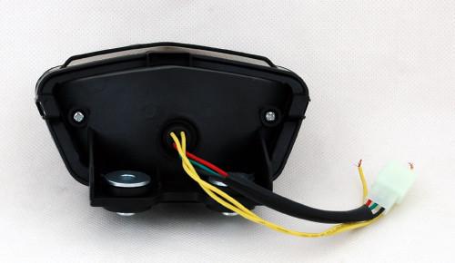 Integrated LED TailLight Turn Signals For Kawasaki EX250/Ninja 250R 2008-2012 Smoke