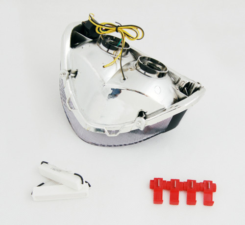 LED Taillight + Turn Signals For Honda CBR929RR 2000-2001 Clear