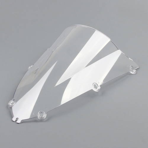 Windshield WindScreen Double Bubble Yamaha YZF R1 (1998-1999) , Clear Black 4XV-28381-10-00, Clear