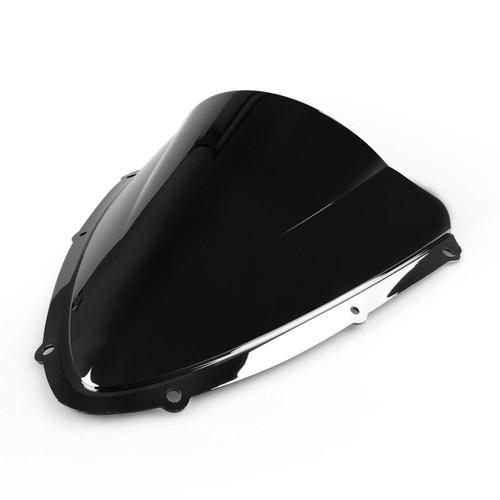 Windshield WindScreen Double Bubble For Suzuki GSXR600750 2008-2009 K8, Black