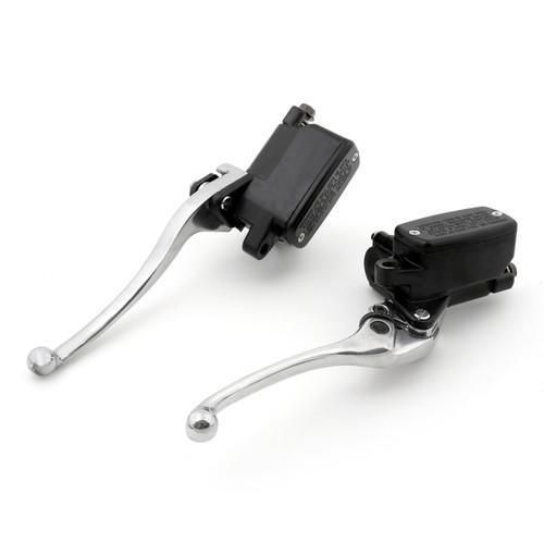Levers Set Hydraulic Brake Hydraulic Clutch Master Cylinders Honda CB1100 (2013-2014) Chrome