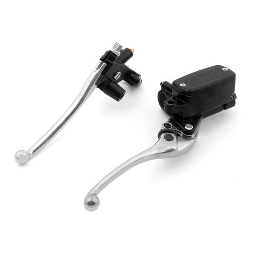 Levers Set Hydraulic Master Cylinder Brake Cable Clutch Honda NT650 DEAUVILLE HAWK 1988-2005