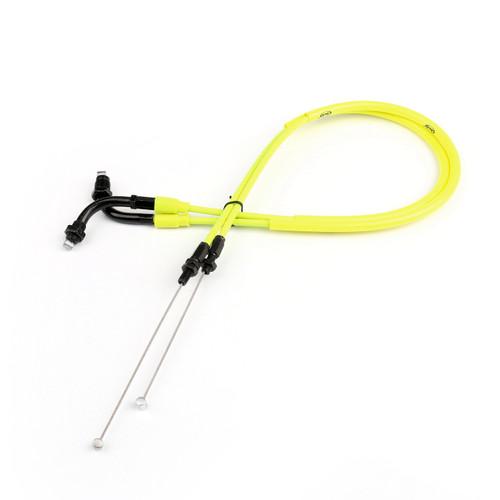 Throttle Cable Wire Line Gas Honda CBR600RR CBR 600RR (2007-2012), Neon Yellow