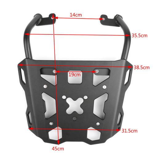 Luggage Rack Rear Carrier Plate kit Yamaha FJ-09 MT-09 Tracer (2015-2016), Black