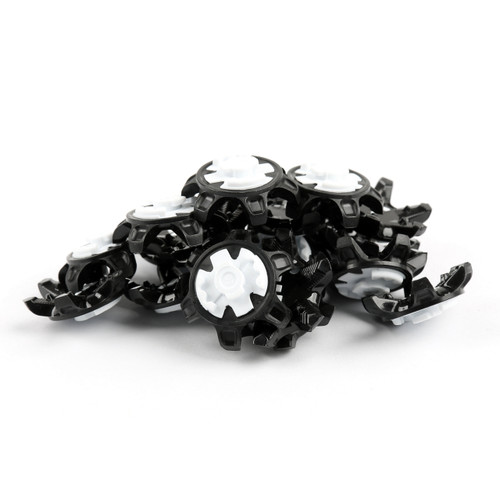 Mad Hornets 100 PCS Golf Spikes Pins Shoe Spikes Replacement Tour360 boost, Black