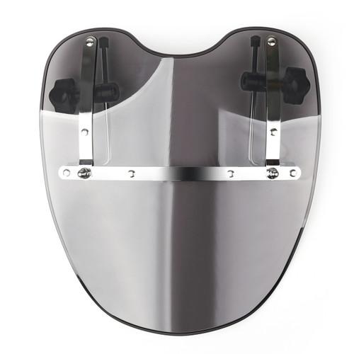 Gray Windshield For Honda Shadow Spirit Aero Rebel Deluxe VT VTX ACE Cruisers