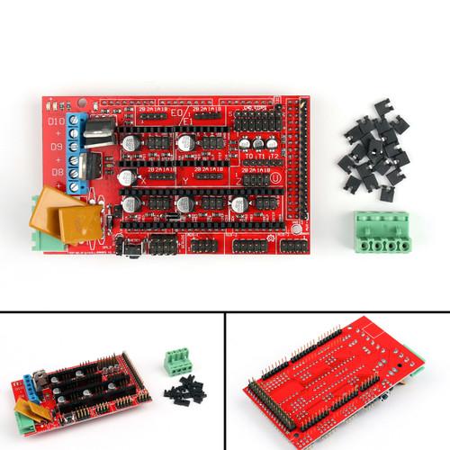 Mad Hornets 1PC Controller Shield Board RAMPS 1.4 For 3D Printer Reprap Prusa Mendel