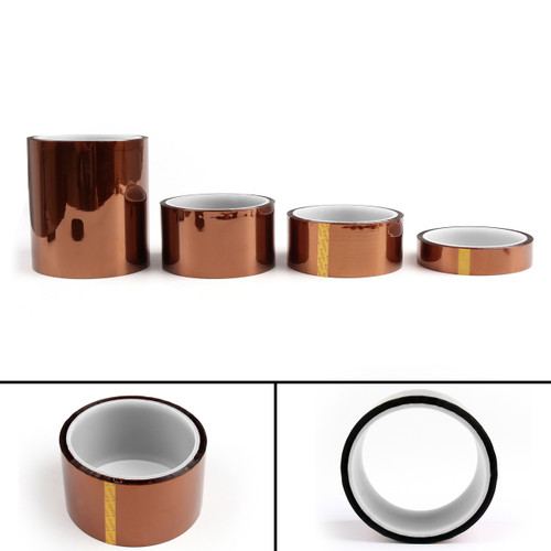 Mad Hornets 5PCs 40mm Heat Tape 33m 100ft Kapton High Temperature Resistant For 3D Printer