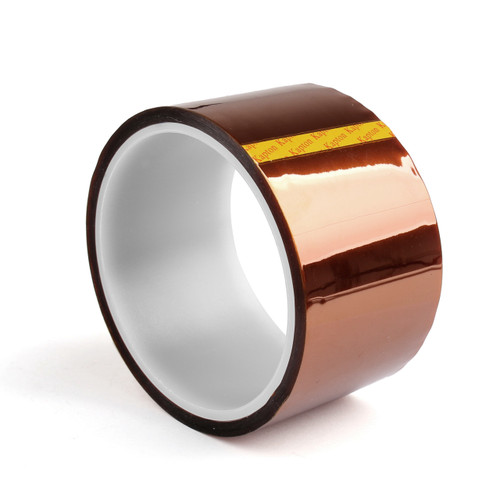 Mad Hornets 1PC 50mm Heat Tape 33m 100ft Kapton High Temperature Resistant For 3D Printer