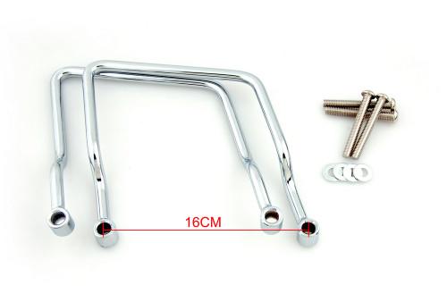 Saddlebag Support Bar for Honda Shadow ACE VT400 / VT750 (1997-2003) Chrome (M502-007-Chrome)