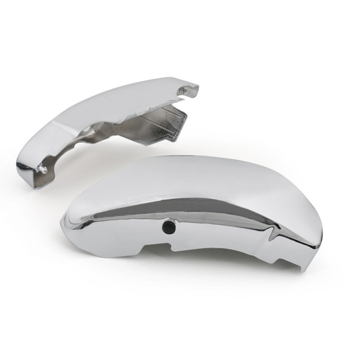 Left & Right Battery Side Covers for Suzuki C50 VL800 Volusia VL 800 Pair, Chrome