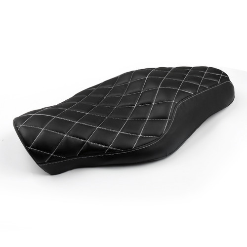 Front Rear Seat Two up Harley Davidson Forty-eight (10-16) Seventy-two (12-16) Sportster 1200 883 models, Diamond 52000211 (M512-F027-Diamond)