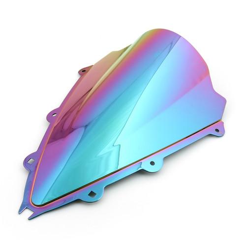 ABS Double Bubble Windscreen Windshield For Aprilia RSV4 (2009-2014) Iridium