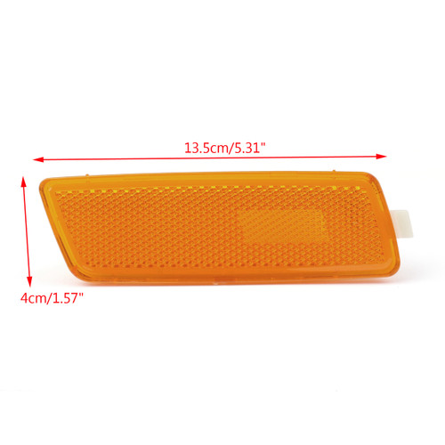 Marker Light Signal Lamps Right Side For Volkswagen Jetta (Gen 5) (05-10) GTI (06-09) Yellow