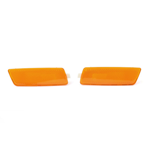 Marker Light Signal Lamps Right Side Pair For Volkswagen Jetta (Gen 5) (05-10) GTI (06-09) Yellow