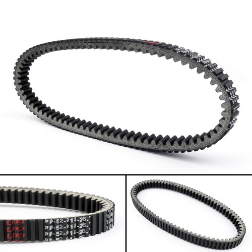 Drive Belt 59011-0011 For Kawasaki KAF400 Mule 610 4X4 XC Camo (15-16) SX 4X4 SE (17-18) Black