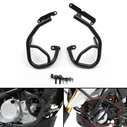 Crash Bar Engine Guard Frame Protector Bumper For BMW G310R G310GS Black