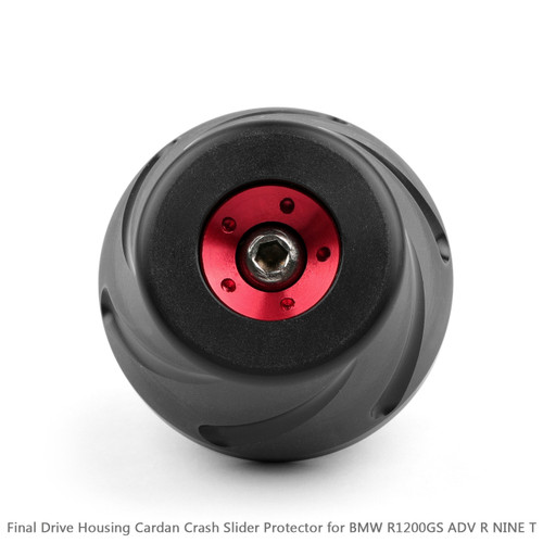 1Final Drive Housing Cardan Crash Slider Protect for BMW R1200GS LC 13-16 ADV Red