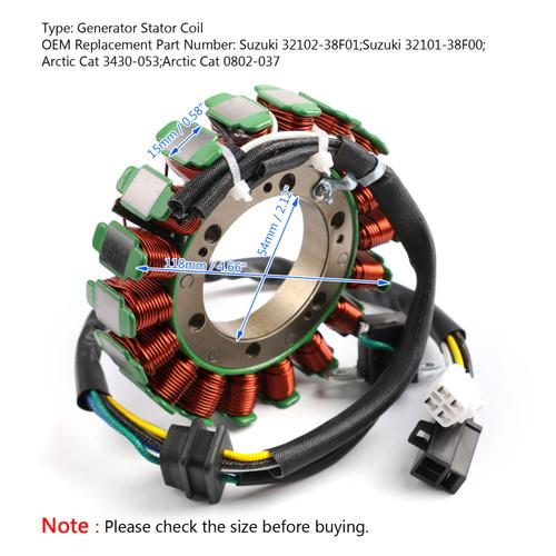 Magneto Stator Coil For Arctic Cat TBX 400 TBX 650 H1 TRV 400 AUTO TRV 650 H1
