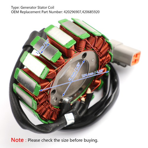 STATOR for Can-am Outlander 650 EFI 06-18 XT 06-09 Max 400 04-15 Max 650 06-18
