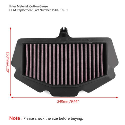 Air Filter For Kawasaki Ninja 400/ABS 2018 P-K4S18-01, Purple