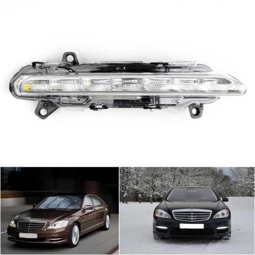 Right LED DRL Daytime Running Fog Light For Mercedes Mercedes CL550 CL600 AMG 11-13 S550 S600 S500 07-13