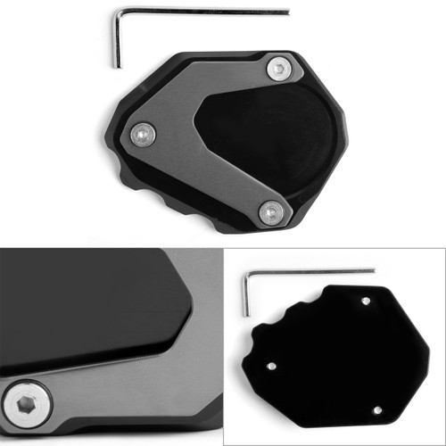 Kickstand Side Stand Extension Pad For BMW R NINE T 2014-2017 R1200RT 2004-2013 Gray