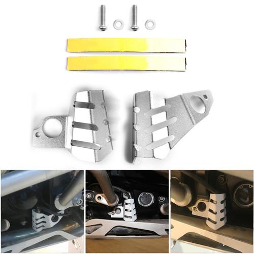 Aluminum Oxygen Sensors Protection Left+Right For BMW R1200 R NINE T (2013-2017) Black